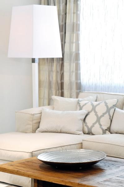 Weißes Sofa en vogue