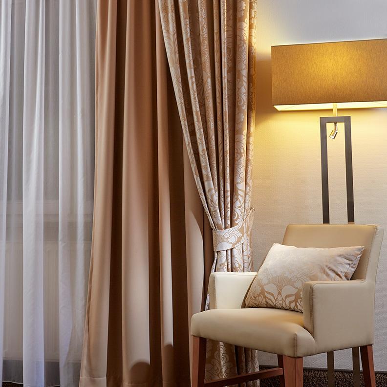 Stuhl in der Suite im Hotel Boettcherhof