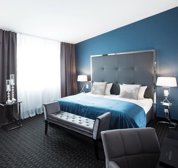 Hotelzimmereinrichtung Junior Suite Hotel Du Nord